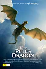 Promotional poster for Pete's Dragon