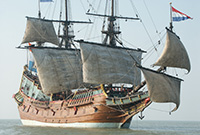 17th century sailing vessel