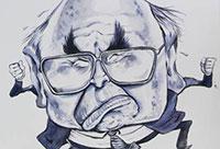 Cartoon of a man