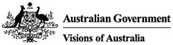 Australian Government Visions of Australia logo