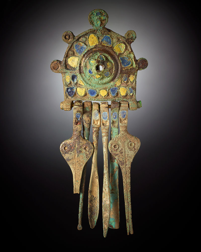 A decorative brooch. - click to view larger image