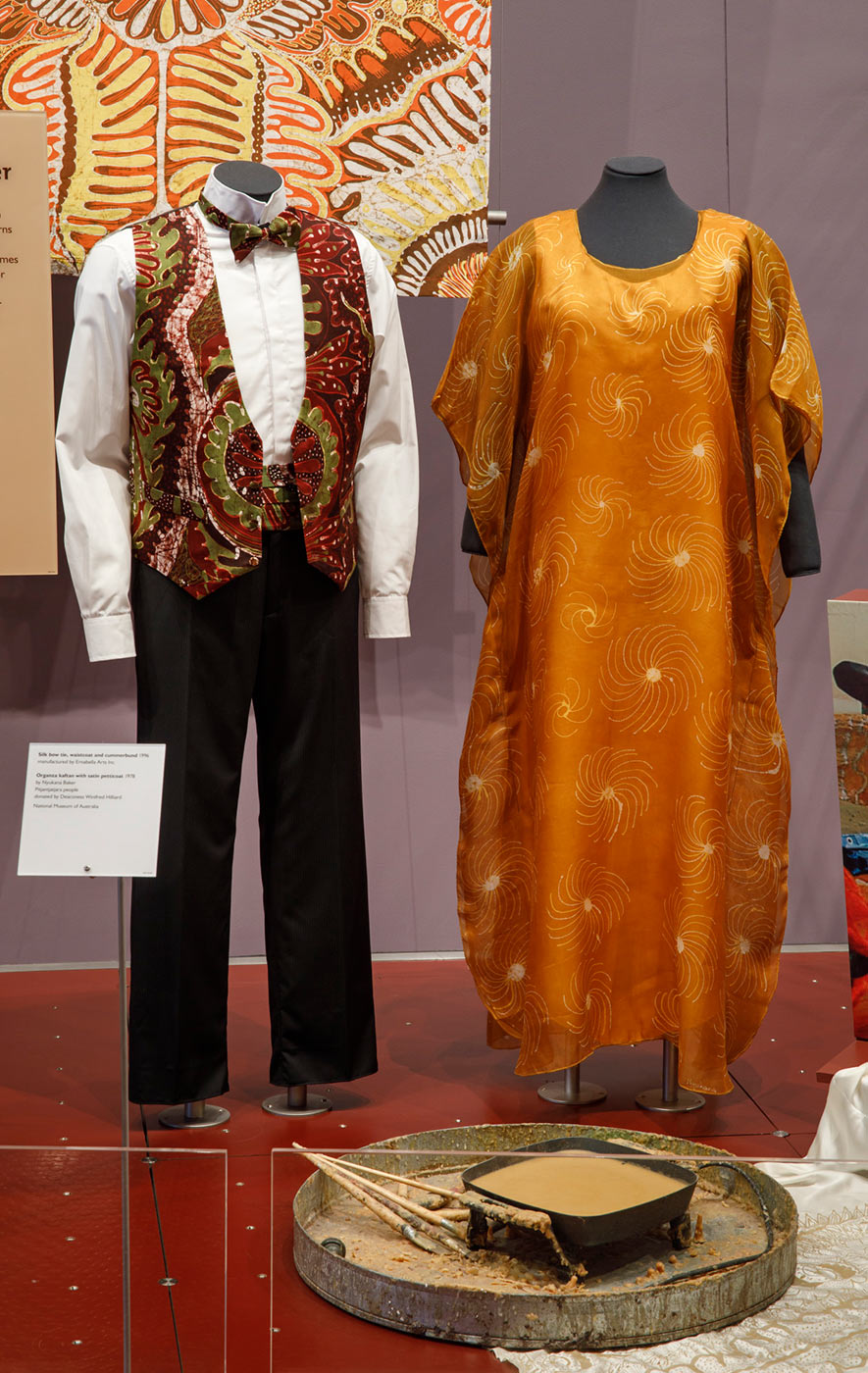kaftan and waistcoat set - click to view larger image