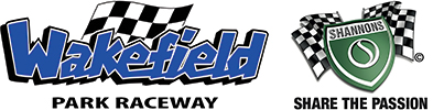 logo block for Wakefield Park Raceway and Shannons