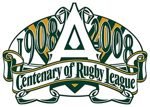 Centenary of rugby league logo