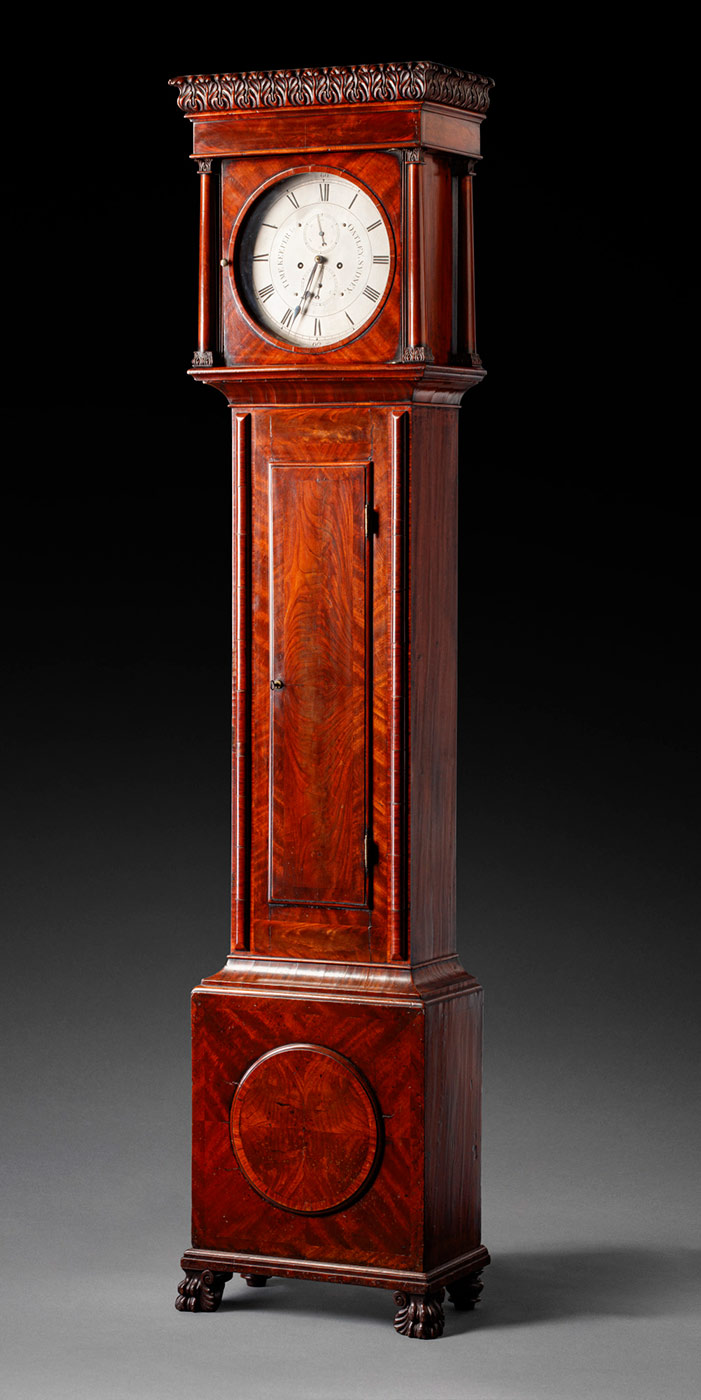 Long case clock. - click to view larger image