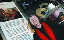 Milliner Jean Carroll shows her skills in Rare Trades