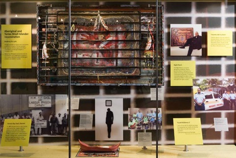 Fighting for our rights: Aboriginal and Torres Strait Islander incarceration display