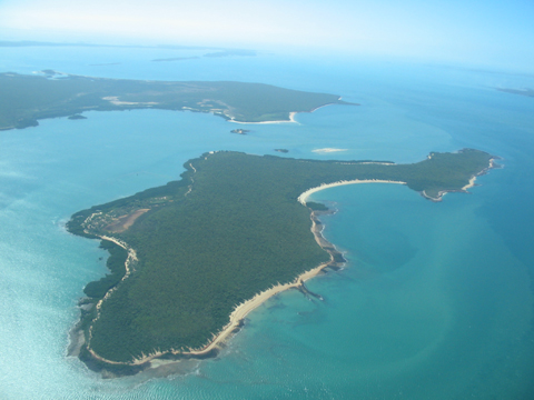 The Birrkili Yolngu homeland of Lungugutja in Arnhem Bay, 24 June 2005
