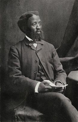 Portrait photograph of Xhosa Prebyterian minister John Knox Bokwe