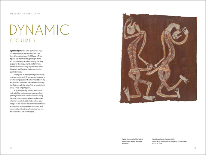 Page spread from the Old Masters publication featuring the section on Dynamic figures.