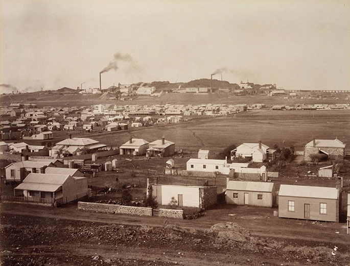 View of Broken Hill, 1888–91