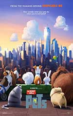 Promotional poster of The Secret Life of Pets