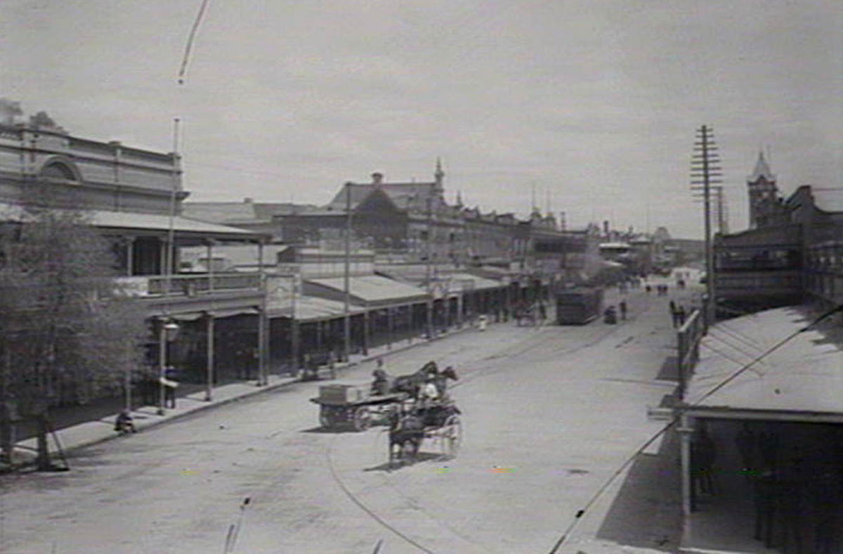 Argent Street, looking south, 1906.