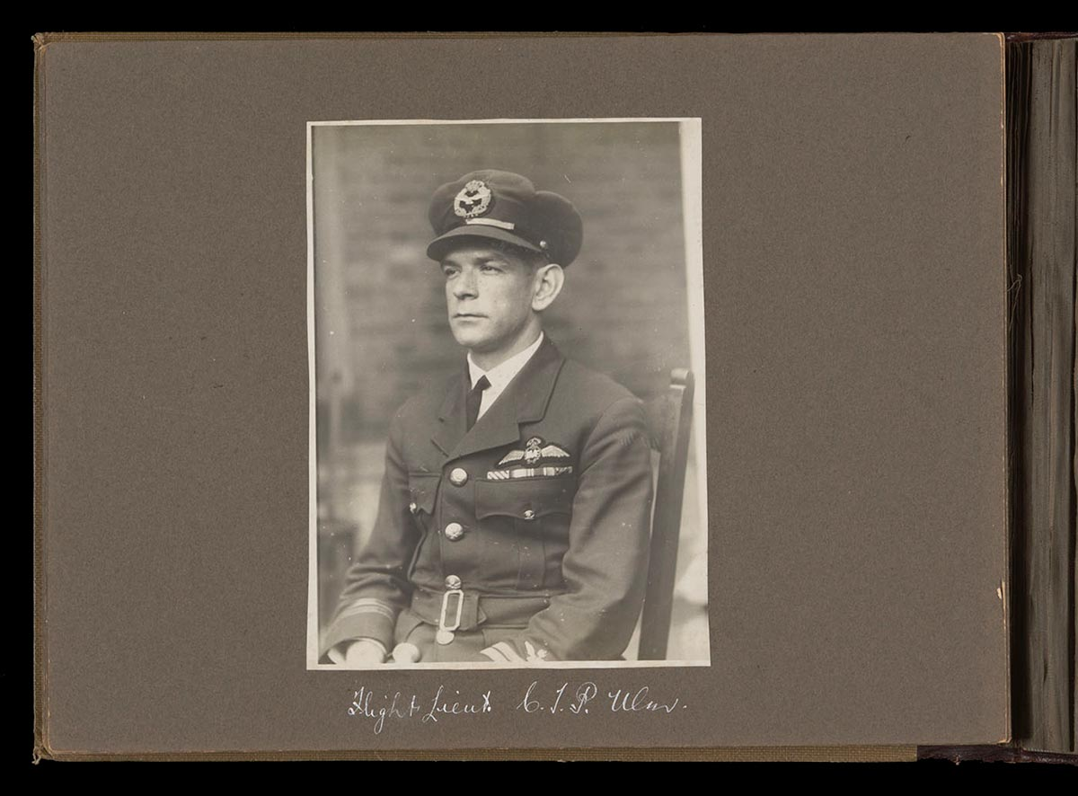 Charles Ulm in RAAF uniform. - click to view larger image