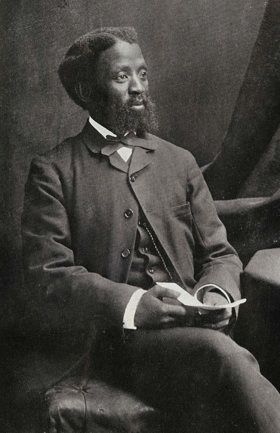Portrait photograph of Xhosa Prebyterian minister John Knox Bokwe - click to view larger image