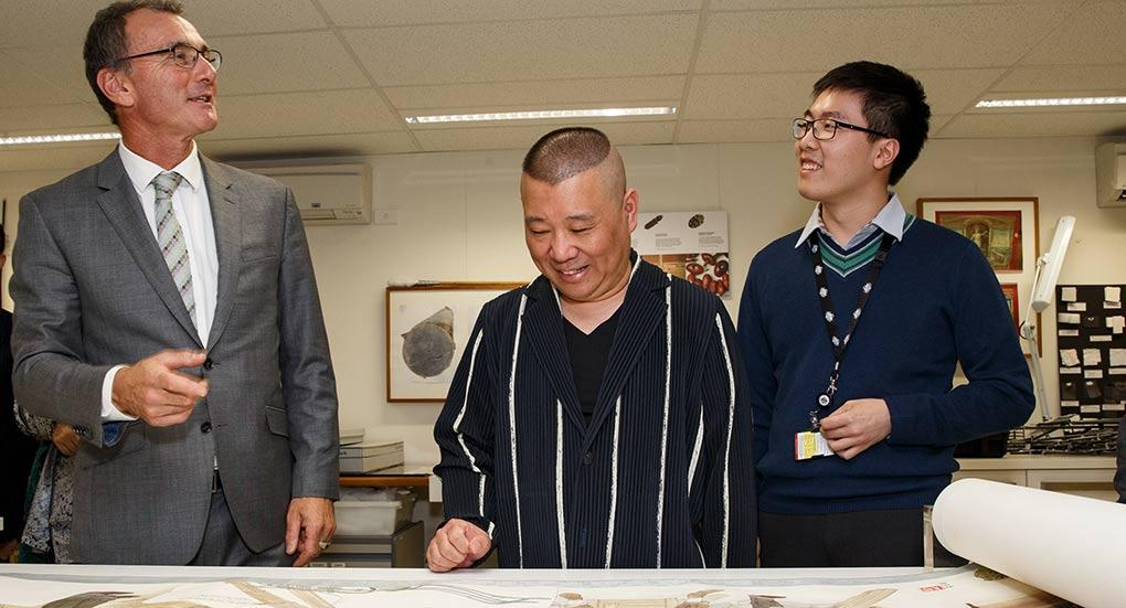 Guo Degang visit