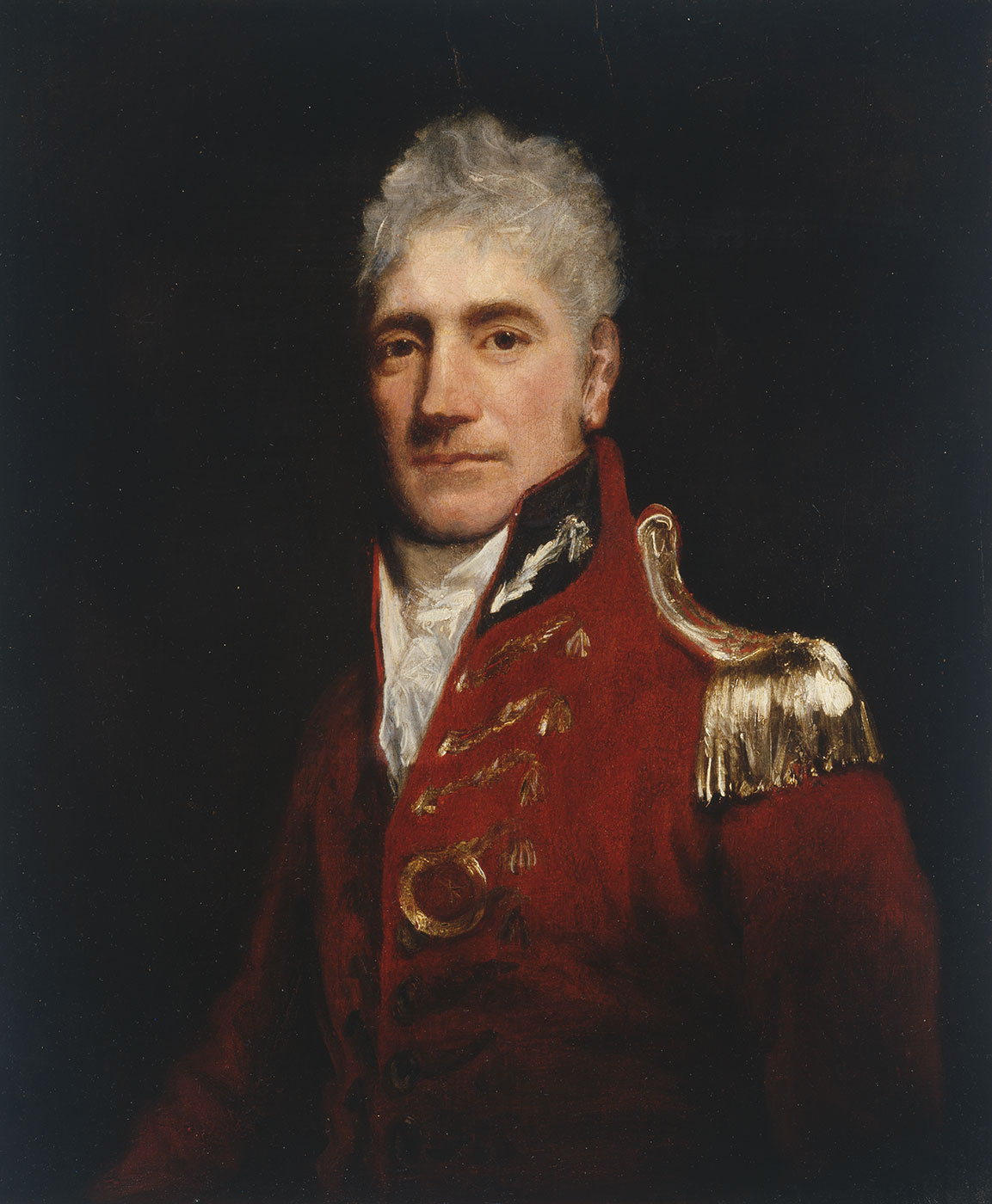 Portrait of Lachlan Macquarie 1805 - click to view larger image