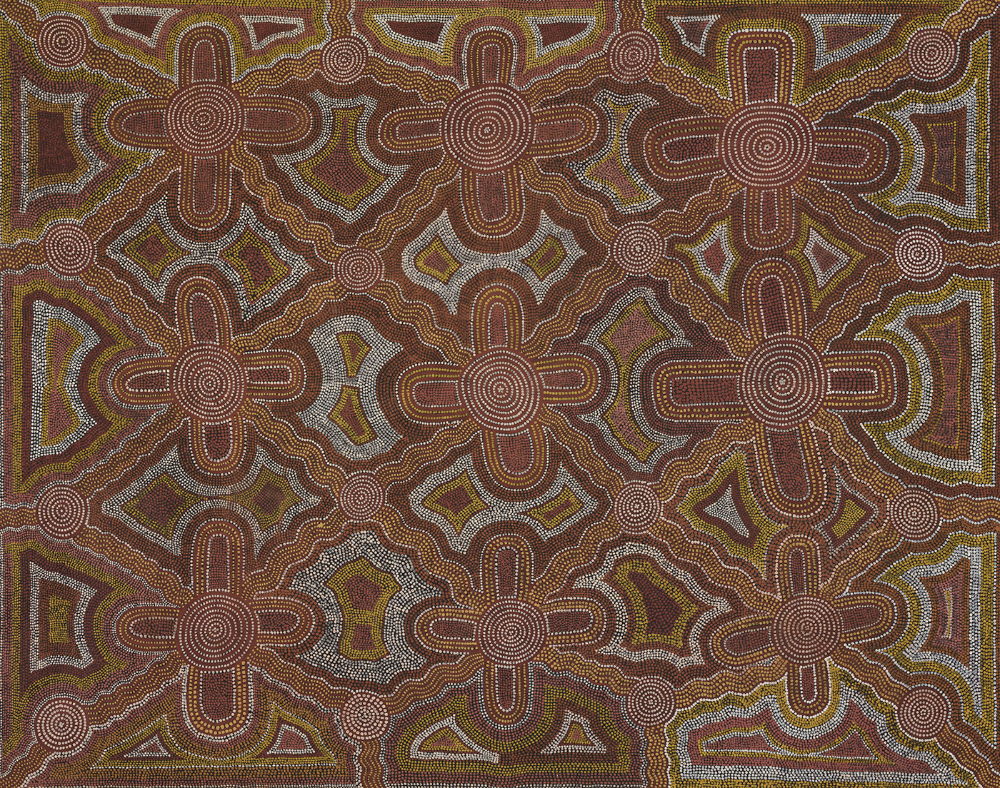 Aboriginal painting. - click to view larger image