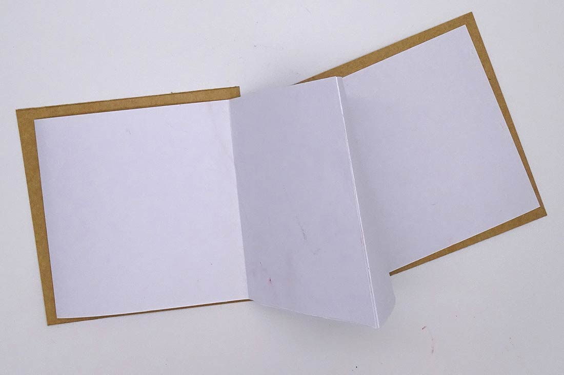 Journal with blank paper - click to view larger image
