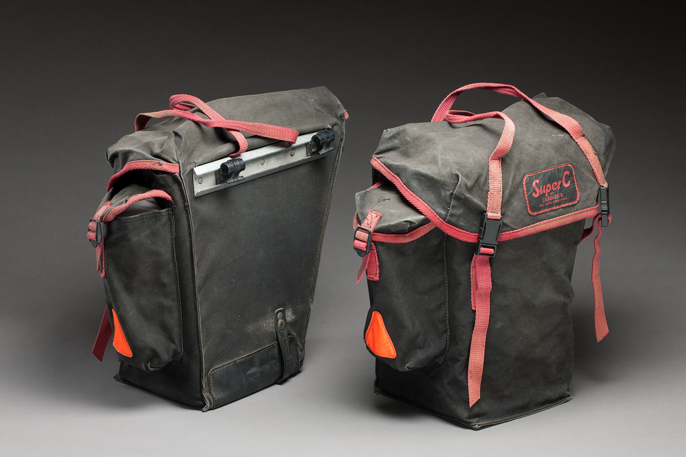 Two Carradice cycling panniers. - click to view larger image