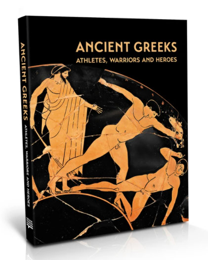 Cover for the Ancient Greeks catalogue.