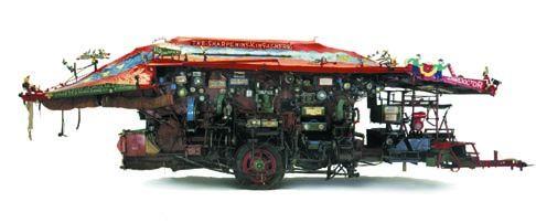 Harold Wright's post-war tinker's wagon