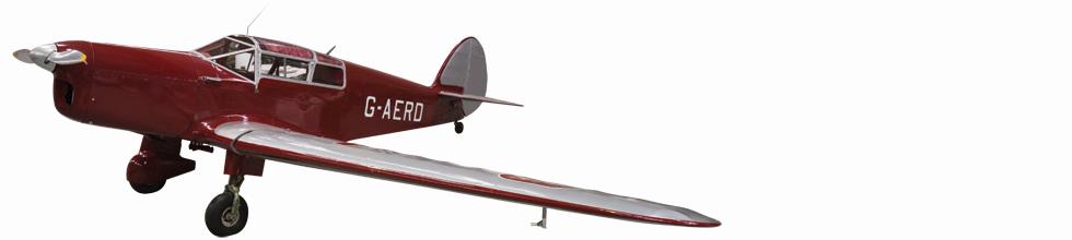 Percival Gull monoplane
