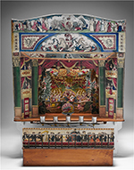 Toy theatre belonging to Edward Everitt, late 19th century. National Museum of Australia.