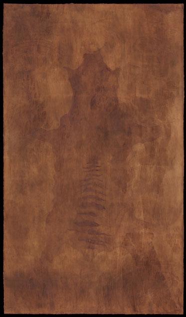 Thylacine triptych: spirit.