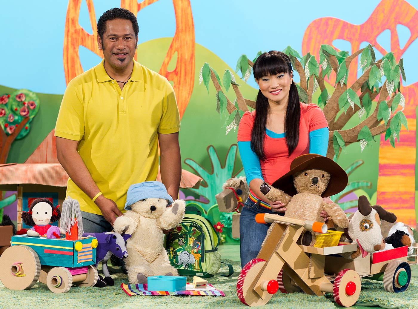 Jay Laga'aia and Michelle Lim Davidson - click to view larger image