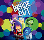 A poster image of the children's movie, Inside Out