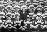 The first Australian Kangaroos side, 1908