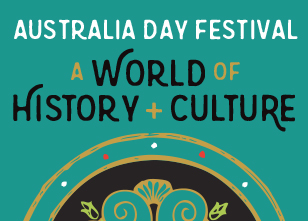 Australia Day family festival graphic