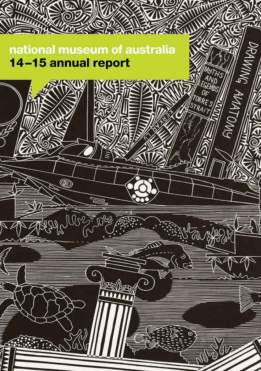 Cover photograph: Navigating narrative, Nemo's encounter in the Torres Strait (2012). Linocut by Brian Robinson.