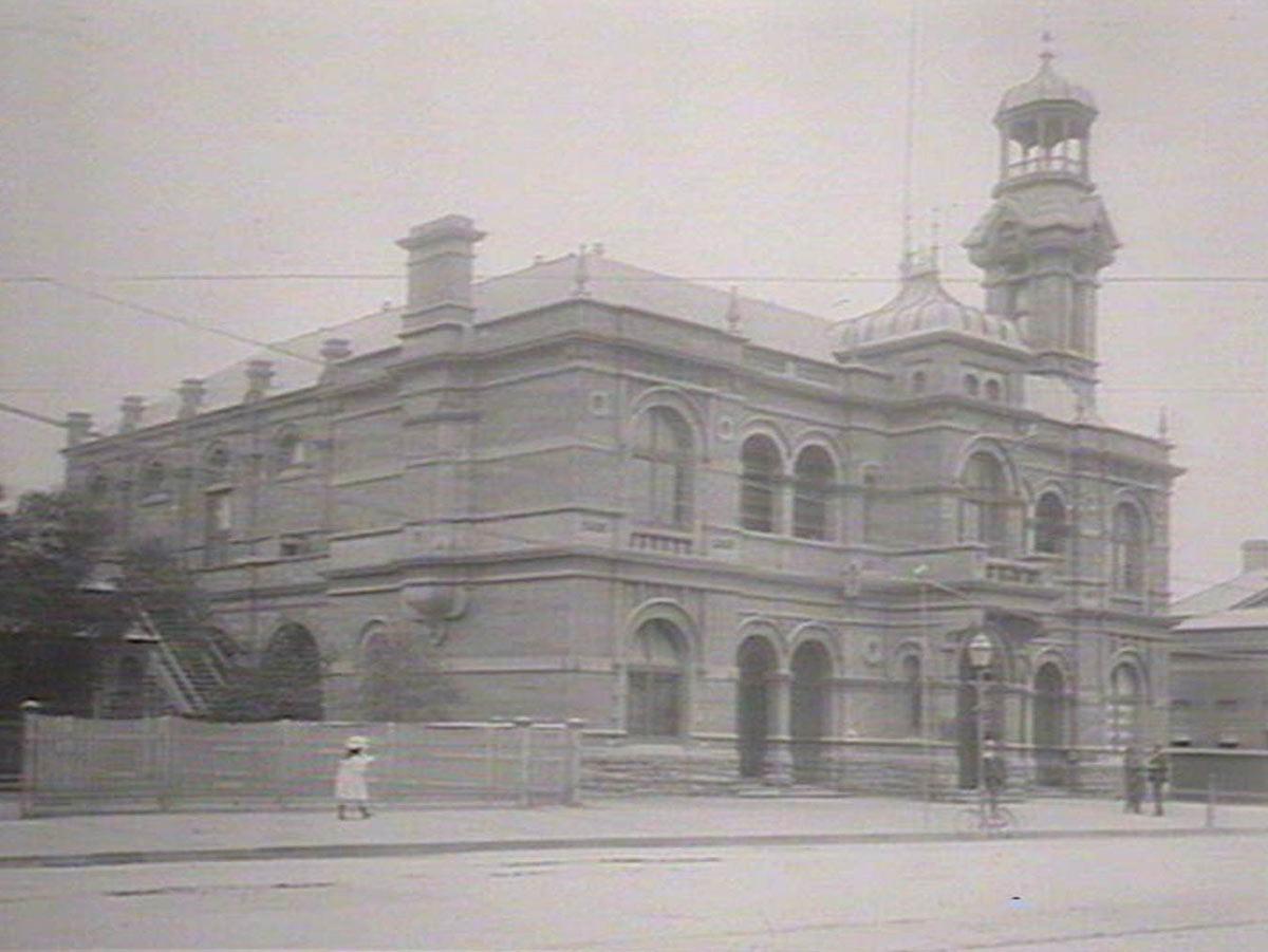 Broken Hill Town Hall, 1906.
