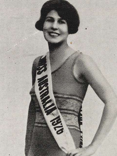 Beryl Mills, Miss Australia 1926 - click to view larger image