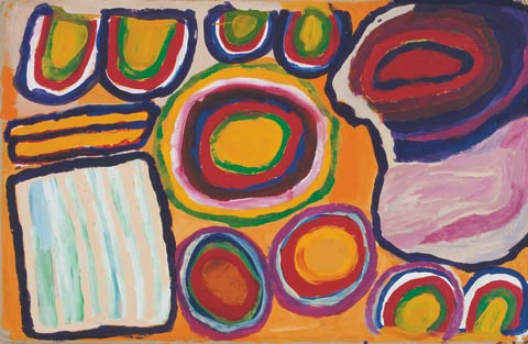 'Pulka', 2007, painting by Dada Samson.