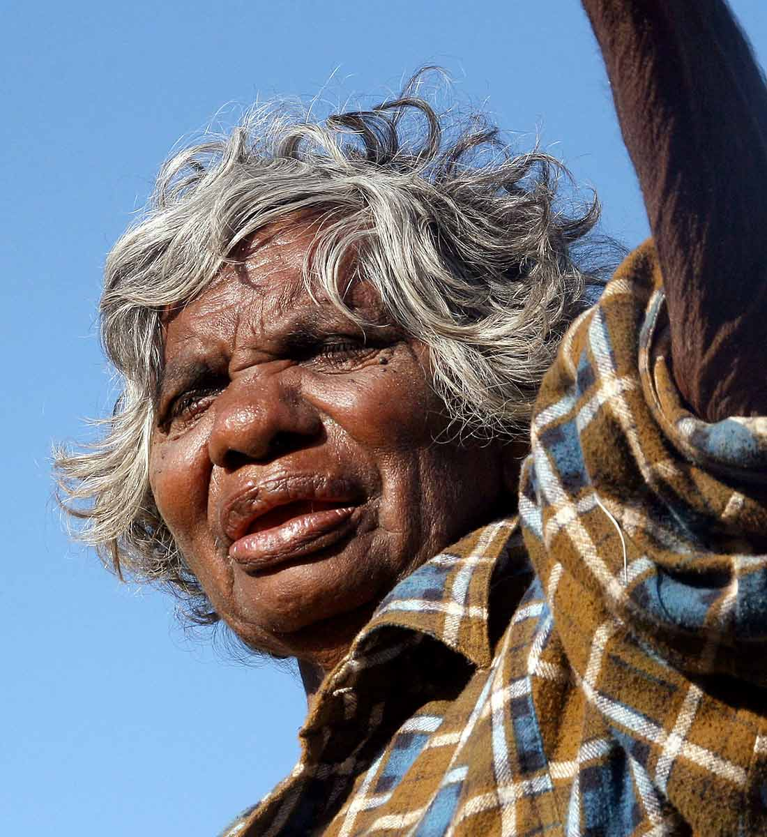 Portrait of Mayapu Elsie Thomas. - click to view larger image