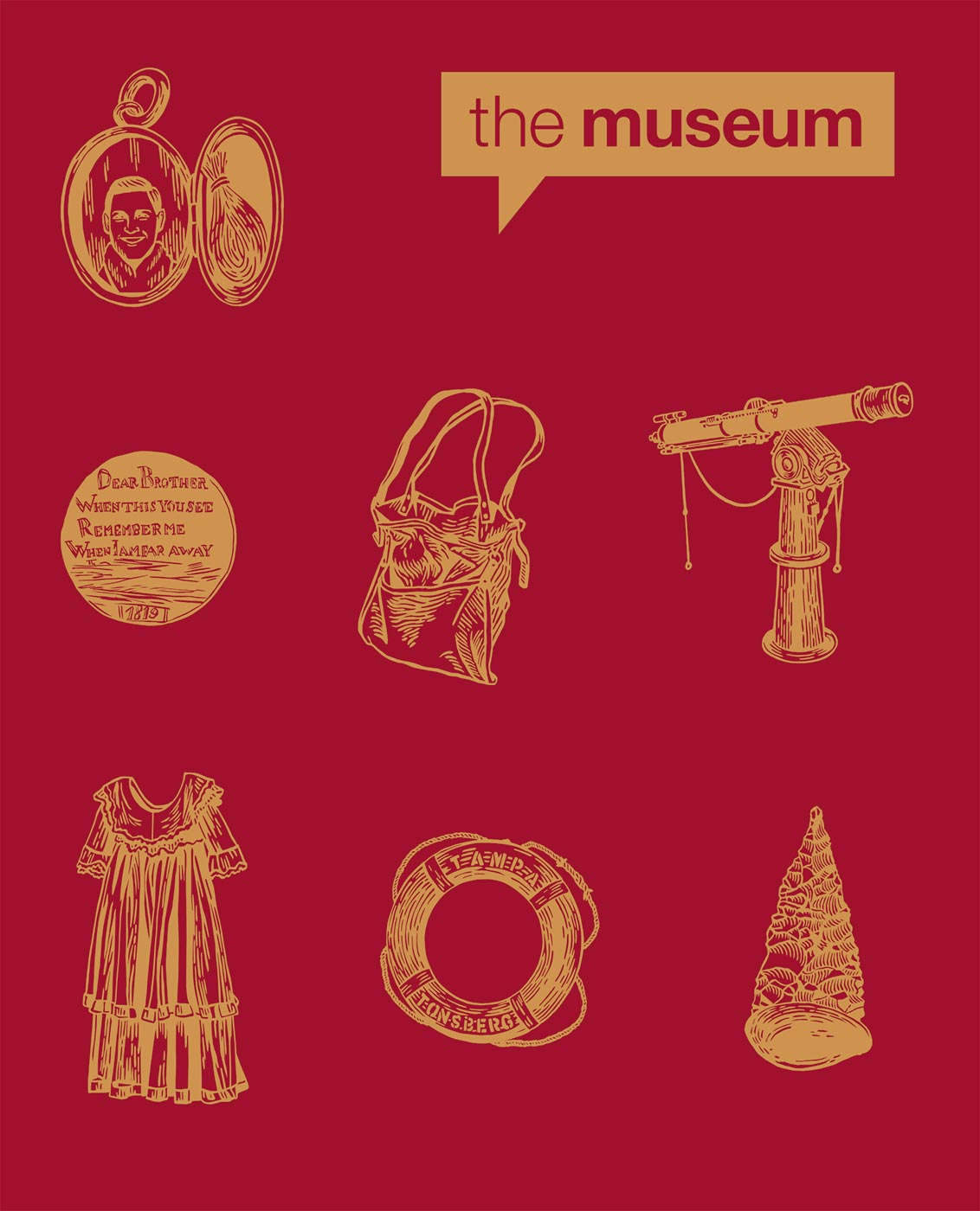 Publications cover for the National Museum of Australia.