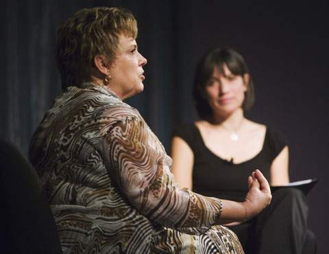 Lindy Chamberlain-Creighton and Sophie Jensen in conversation.