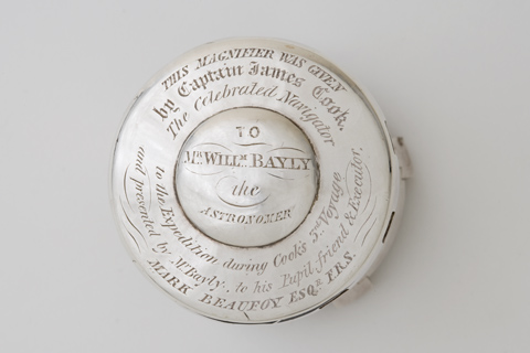 Lid of Cook's magnifier