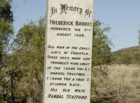 Epitaph inscribed on the grave of Fred Brooks