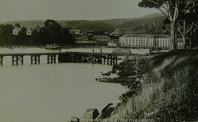 An image of Port Arthur.
