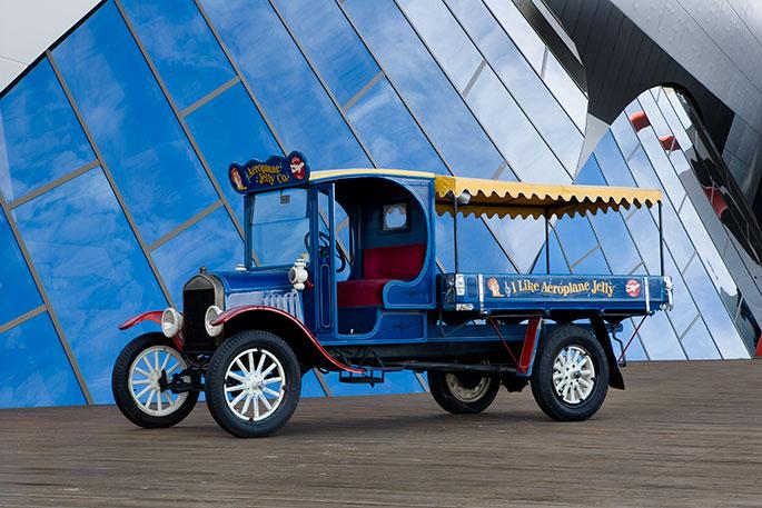Model-T Ford truck