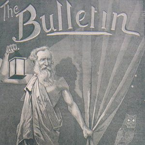 cover of the Bulletin issue, 1886 edition