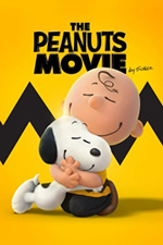 A poster image of the children's movie, The Peanuts Movie