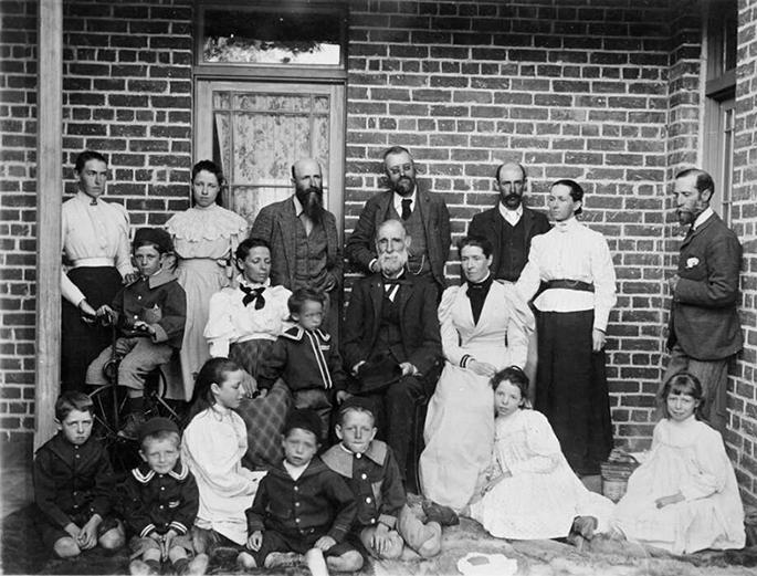 William Farrer with De Salis Family