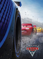 Poster for movie, 'Cars 3'
