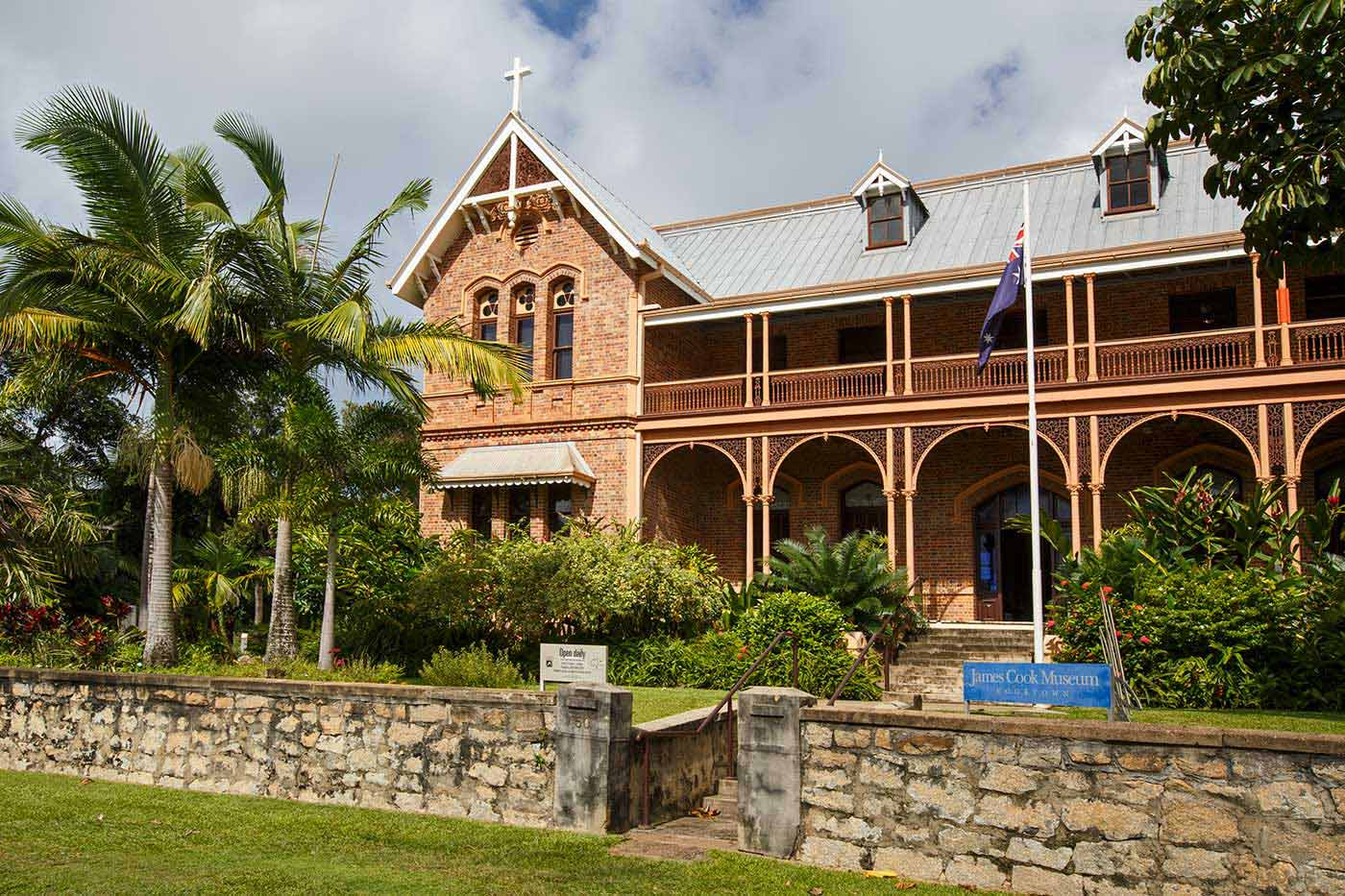 Exterior photoraph of the James Cook Museum - click to view larger image
