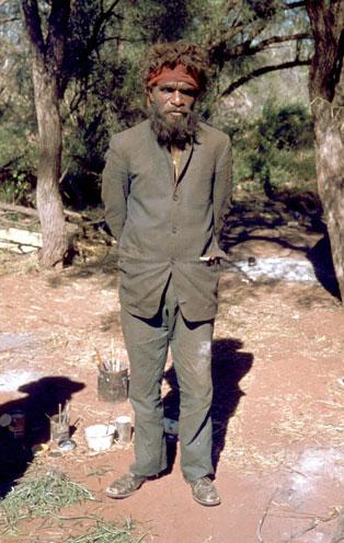 John Tjakamarra.